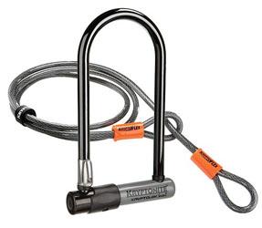 Strongest Bike Lock Review -Kryptonite KryptoLok Cable Bike Lock
