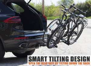 BV Bike Hitch Mount Rack Carrier for Car Truck SUV