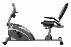 Exerpeutic 1111 900XL Recumbent Bike with Pulse