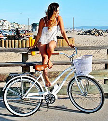 About Cruiser Bicycles - Girl Next To Bike
