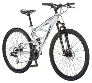 Top Best Affordable Mountian Bikes Review - Mongoose Impasse Dual Full Suspension Bicycle